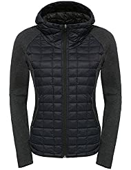 North Face W Endeavor Thermoball Jacket - Chaqueta para mujer, color negro, talla L