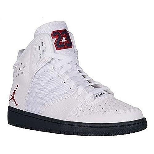 sports shoes ddbcf 856d4 ... Nike Air Jordan 1 Flight 4 PREM Mens Hi Top Basketball Trainers 838818  Sneakers Shoes ...