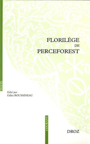 Florilège de Perceforest