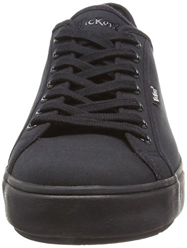 Kickers Herren Tovni Lacer Text Am Black/Black Sneaker Schwarz (Schwarz)