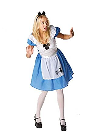 Rubie's 880151 Rubie's Official Alice in Wonderland, Alice Classic Adult Costume - Ladies Small