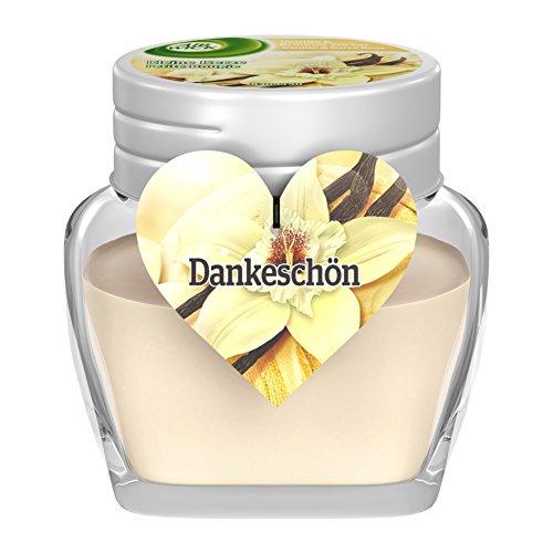 Air Wick kleine Kerze, Vanille & brauner Zucker Duft, 4er Pack (4 x 1 Stück)