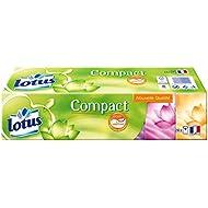 lotus Compact 24 Sachets de Mouchoirs en Papier - Lot de 4