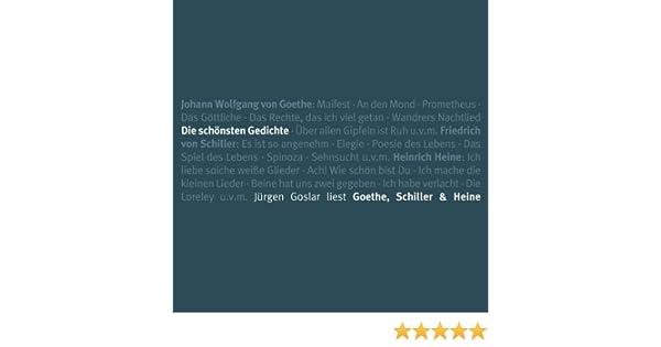 Die Schönsten Gedichte Goetheschillerheine