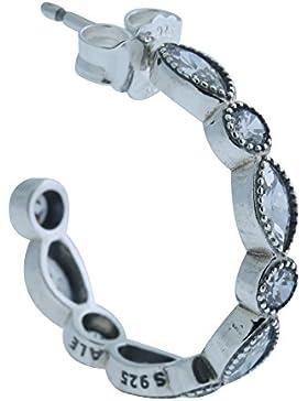 Pandora Damen Ohrringe 925 Silber Zirkonia weiß - 290724CZ