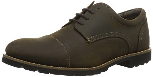 Rockport - Modern Break Captoe Oxford, Stivali Uomo Marrone (Brown)