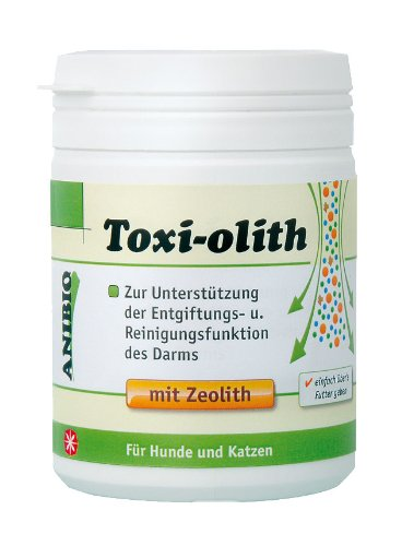 Anibio Toxi-olith 130g Ergänzungsfutter für Hunde und Katzen, 1er Pack (1 x 130g)
