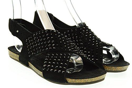 GIULIA TADDEUCCI donna sandali 43500/N MAREMMA NERO 39 Nero