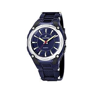 Calypso 5560/3 – Reloj de Caballero de Cuarzo, Correa de Goma Color