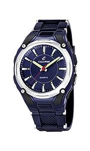 Calypso - K5560/3 - Montre Homme - Quartz - Analogique - Eclairage - Bracelet Caoutchouc Bleu