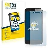 BROTECT AirGlass Protector Pantalla Cristal Flexible Transparente para Prestigio MultiPhone 5508 DUO Protector Cristal Vidrio - Extra-Duro, Ultra-Ligero, Ultra-Claro