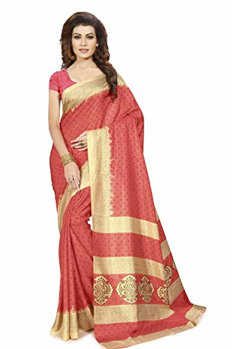 Miraan Printed Art Silk Saree for women with blouse   Party wear...