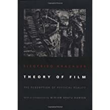 Theory of Film: The Redemption of Physical Reality (Princeton Paperbacks) by Siegfried Kracauer (1997-12-14)