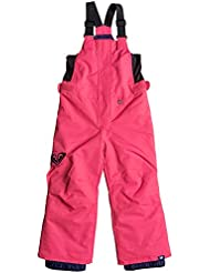 Roxy niña Lola–Pantalones de nieve, color rosa, talla 6/7