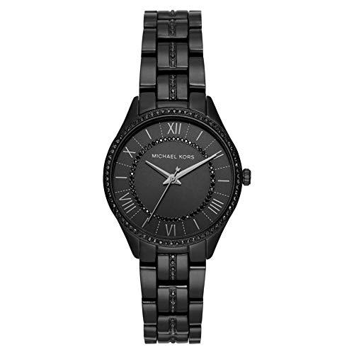 Michael Kors Damen Analog Quarz Uhr mit Edelstahl Armband MK4337