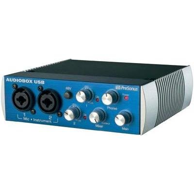 PreSonus Audio Interface AudioBox USB-Interface inkl. Software, Monitor-Controlling