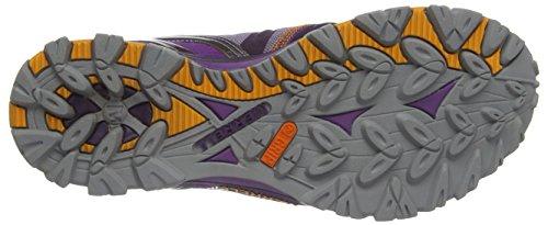 Merrell Grassbow Sport Gtx, Chaussures de marche nordique femme Couleurs mélangées - Plum Purple