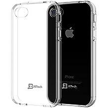 JETech iPhone 4 4s Bumper Funda Carcasa Case Shock-Absorción y resistente a los arañazos Borrar Back para el Apple iPhone 4/4s (HD Clear) - 0510