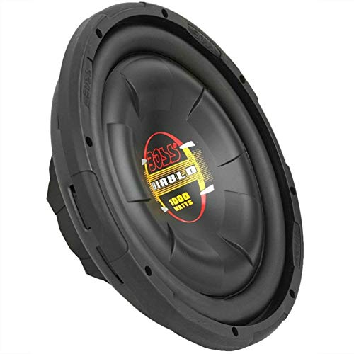 BOSS Audio D12F SCHWARZ SUB WOOFER SUBWOOFER