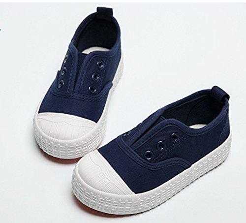 Sapatos Bons De Bombas Tornozelo Jovens Azul Tênis Escuro Yc Unissex Crianças Livre Calçado sapatilhas Planas 4qdn7C0