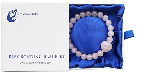 rose-quartz-baby-bonding-bracelet-by-easy-mom-and-baby-nursing-bracelet-for-breastfeeding-perfect-un