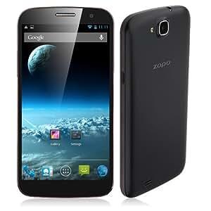 ZOPO Captain S ZP990 - 6 pouces Smartphone Quad Core Débloqué Android 4.2 MTK6589T écran FHD (1920 * 1080) 2GB/32GB OTG OTA OGS + étui de flip pour ZOPO ZP990 - Noir