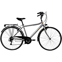 VTC 28'' Homme Discovery Adventures - 6 Vitesses - Shimano TY21+ Potence REGLABLE