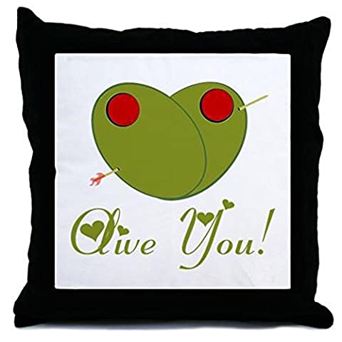 CafePress - Olive You - Throw Pillow, Decorative Accent