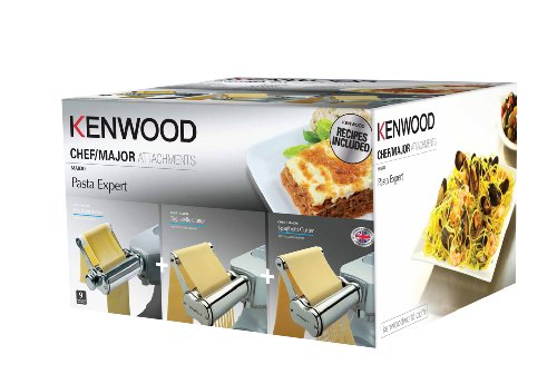 Kenwood ma830 - kit 3 accessori pasta expert in acciaio inox