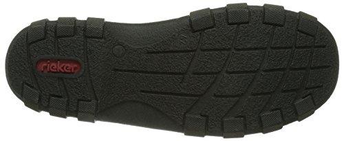 Rieker 07390-02, Boots homme Noir (Schwarz/Schwarz/02)
