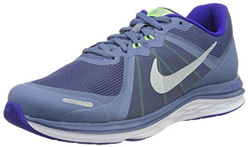 Nike Dual Fusion X, Chaussures de Running Entrainement homme Bleu (Ocean Fog/Metallic Silver Concord Electric)