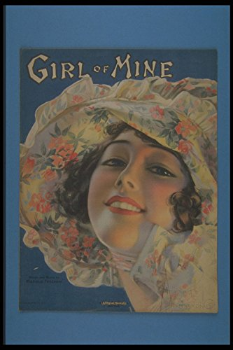 305026 Girl Of Mine Copyright 1919 A4 Photo Poster Print 10x8