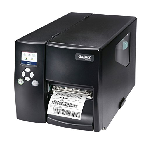Thermodrucker Thermodirektdrucker Etikettendrucker Godex EZ2350i 300 dpi Modell mit Modell mit Spender, Lineraufwickler, LAN, USB