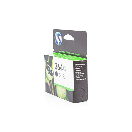 Original Tinte passend für HP DeskJet 3520 e-All-in-One HP 364 , 364XL , 364XLBK , 364XLBLACK , NO364XL , NO364XLBK , NO364XLBLACK CN684EE - Premium Drucker-Patrone - Schwarz - 550 Seiten - 12 ml (3520 Hp Deskjet Drucker)