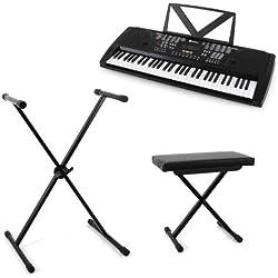 """Soporte para Teclado o Piano Electrónico - Schubert """"Little Chopin"""""""