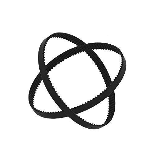 Aibecy GT2 Zahnriemen mit geschlossenem Regelkreis, Gummi W = 6 mm, L = 110/112/158/200/280/400/610/852 / 1220mm 3D-Drucker-Teile-Kits 2er Pack