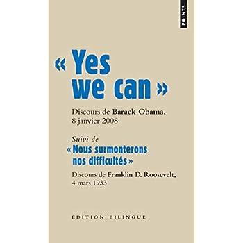 ' Yes we can '. Discours de Barack Obama, candidatà la présidence des Etats-Unis, à Nashua
