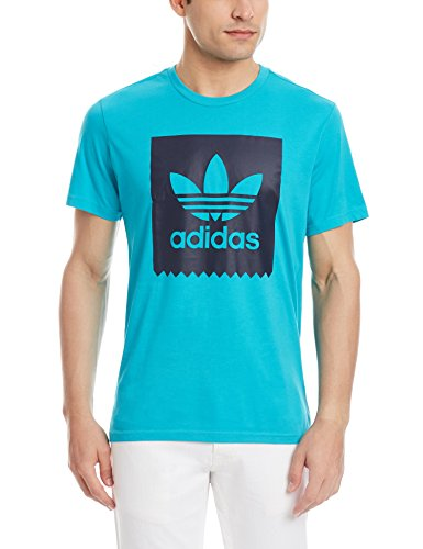 adidas Blackbird Logo Fill T-Shirt Türkis