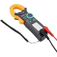 Footprintse Probador de formaldehído Pantalla LCD digital de alta precisión HT-M2 Detector de fugas de microondas 0-9.99mW / cm2-color: negro y amarillo