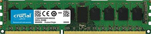 72 Pin Dimm (Crucial CT102472BD160B 8GB DDR3 PC3-12800 Unbuffered ECC)