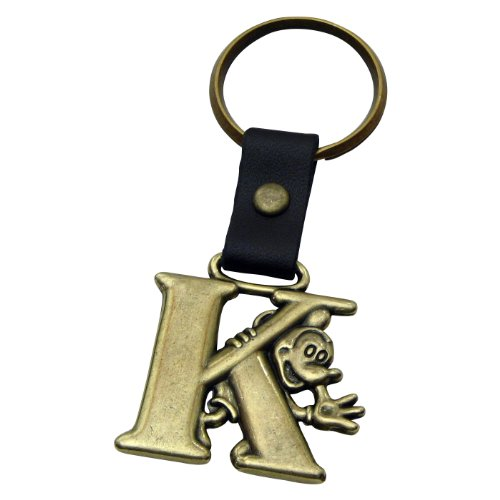 K Messing Schlüsselanhänger (Disney Mickey Schlüsselanhänger)