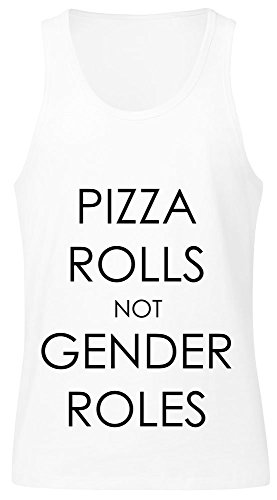 pizza-rolls-not-gender-roles-mens-tank-top-shirt-large