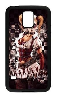 Custom Design - Joker and Harley Quinn Phone Case Cover For Samsung Galaxy S5 (WCA Designed)