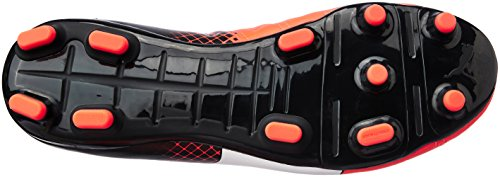 Puma Evopower 4.3 Tricks Fg, Chaussures de Football Homme Noir (Blk/Wht/Red)