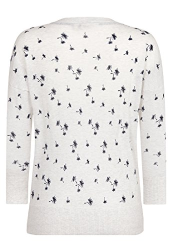 Naketano Female Knit Maja Pusteblume White Marble Melange