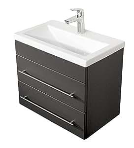 emotion badm bel mars 600 slimline mdf anthrazit seidenglanz 60 cm x 36 cm x 52 cm. Black Bedroom Furniture Sets. Home Design Ideas