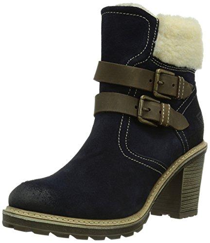 Tamaris 26485, Damen Biker Boots, Mehrfarbig (Navy Comb 804), 38 EU (5 Damen UK)