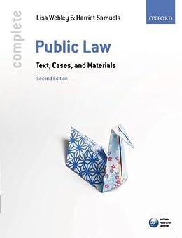 Complete Public Law by [Webley, Lisa, Samuels, Harriet]