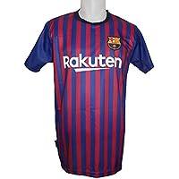 FC. Barcelona Camiseta Réplica Adulto Primera Equipación 2018 2019 - Dorsal  Liso - Producto bc40188f3b58f