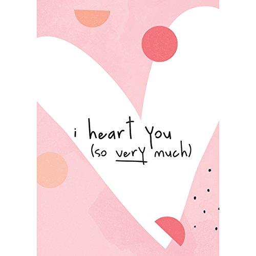 "Preisvergleich Produktbild Kaisercraft Kaiser Style Greeting Card W / Envelope 5""X7""-Heart You"